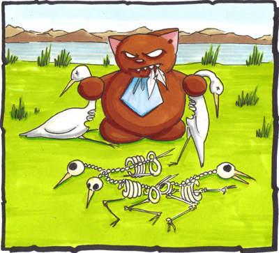 Egrets: I've had a few.